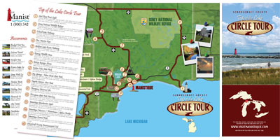 Top of the Lake Circle Tour Brochure