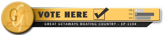 Vote Here - Boating Country 1104